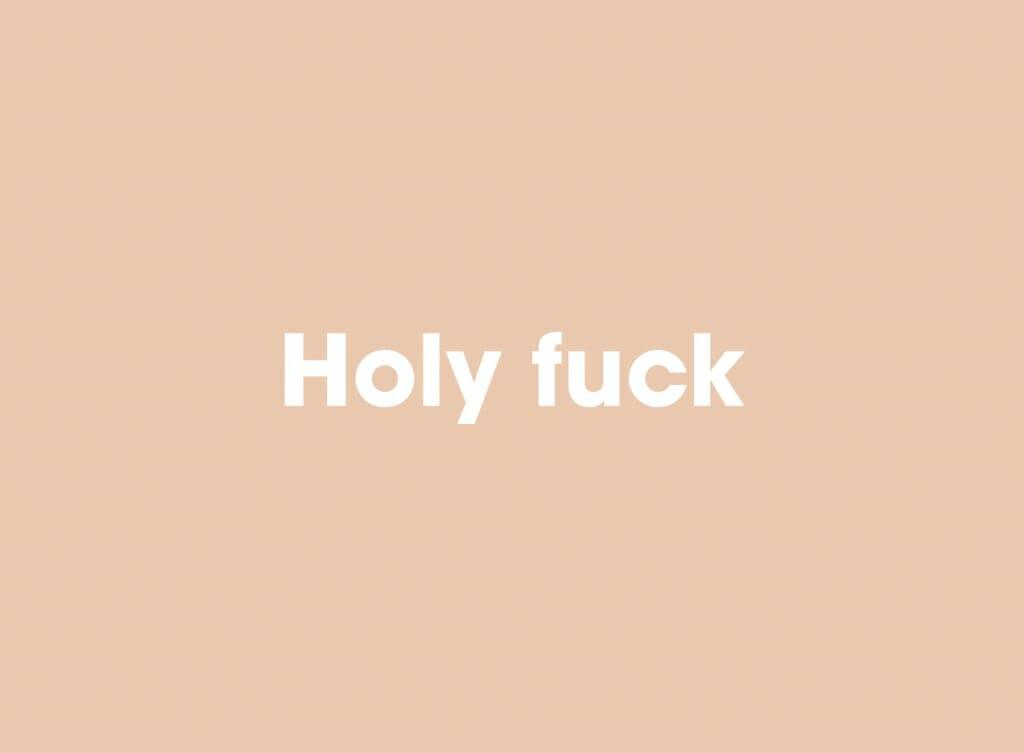 Holy fuck boek toekomst van seks