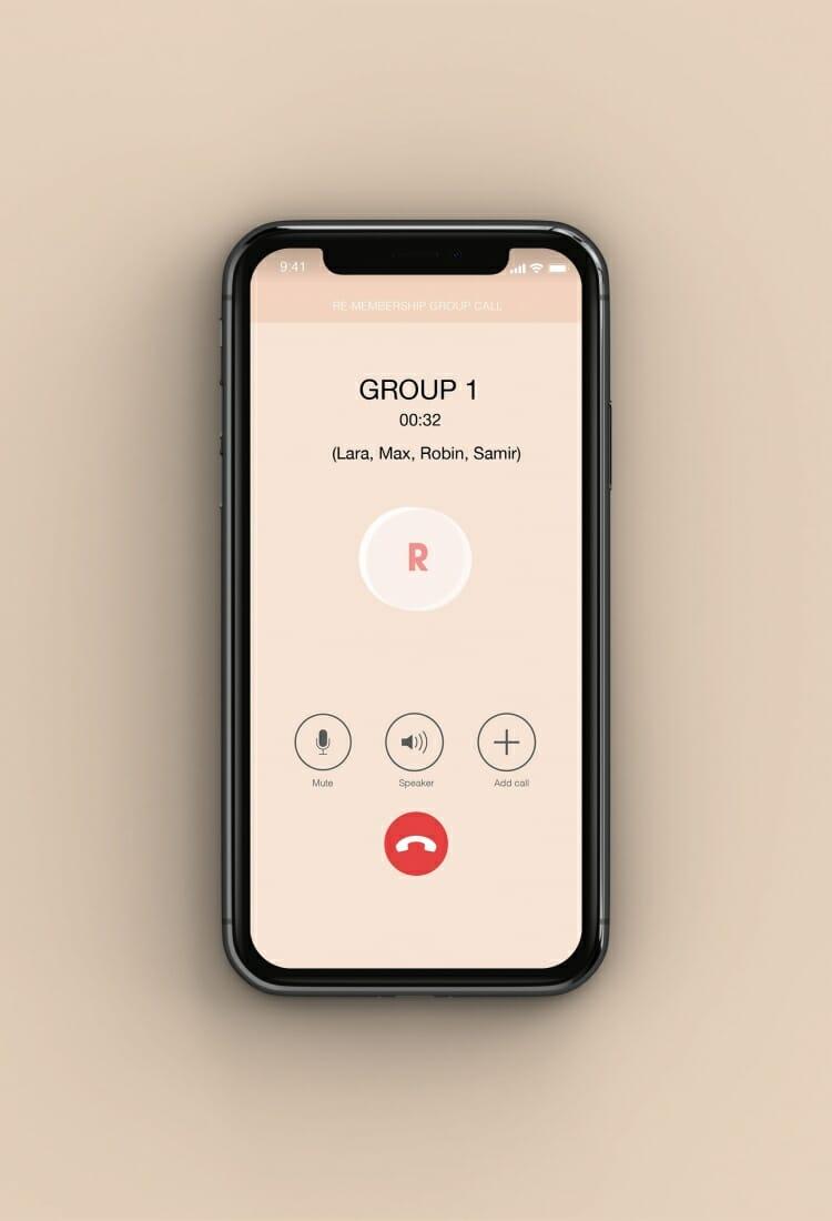 Re-membership - groupcall