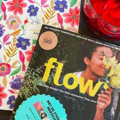 Jeanneke Scholtens in Flow magazine