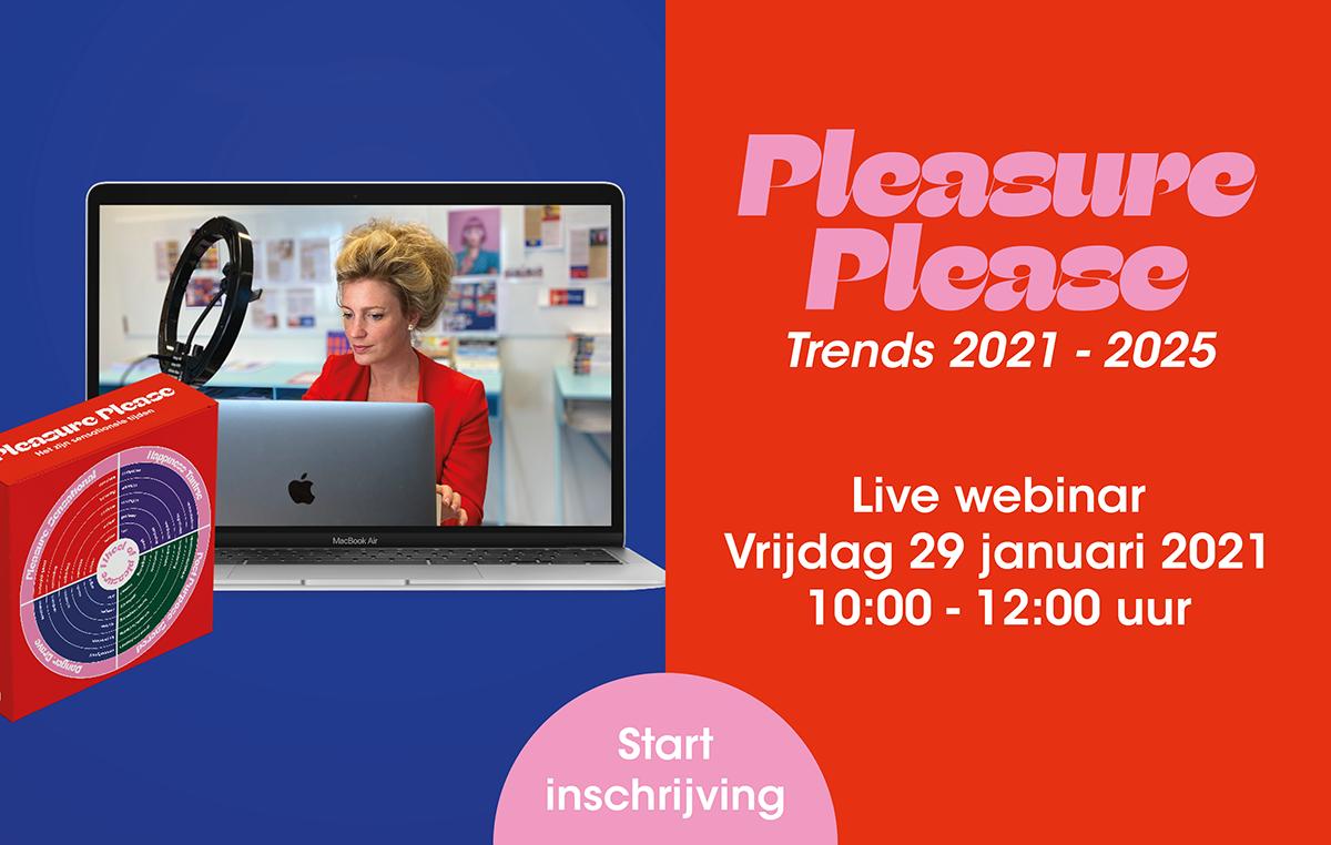 Pleasure please webinar trends 2021 - 2025
