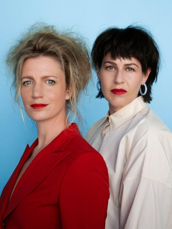 Jeanneke Scholtens en Kim Timmer